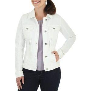 Karen Kane White Denim Jacket